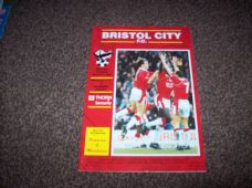 Bristol City v Tranmere Rovers, 1992/93